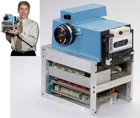 ilk dijital fotoğraf makinesi