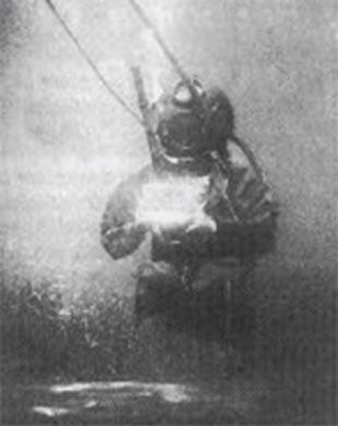 ilk su altı fotoğrafı