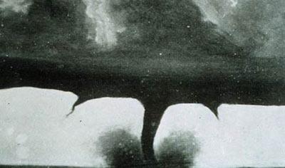 ilk tornado fotoğrafı