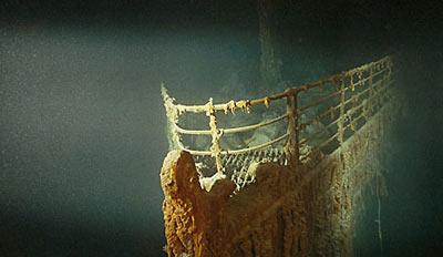 Titanic'in ilk fotoğrafı