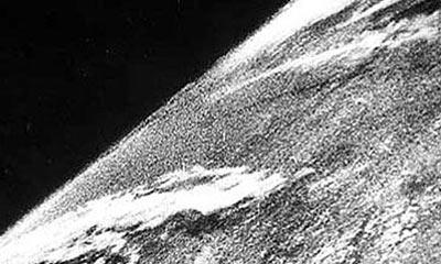Uzaydan çekilen ilk fotoğraf